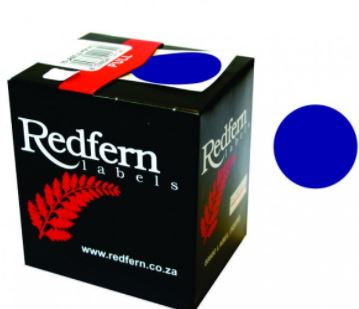Redfern C19 Label Dark Blue