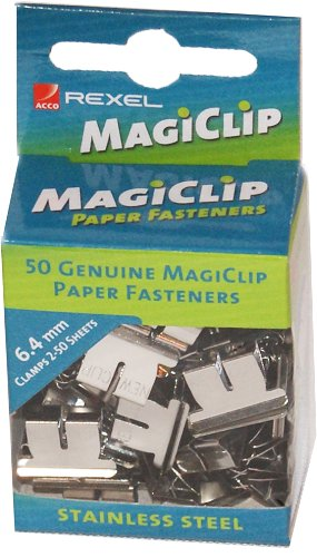 Rexel Magiclips 6.4 Box 50