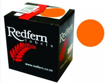 Redfern C19 Label Orange