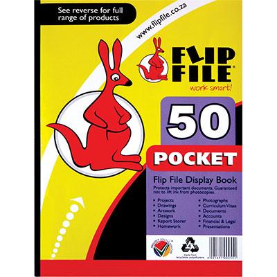 Flip File A4 50 Page Kangaroo