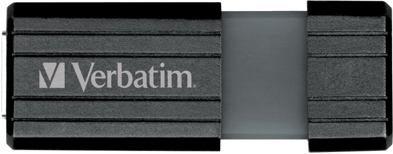 Verbatim Store and Go Hi Speed Pinstripe Black 32GB Flash Drive