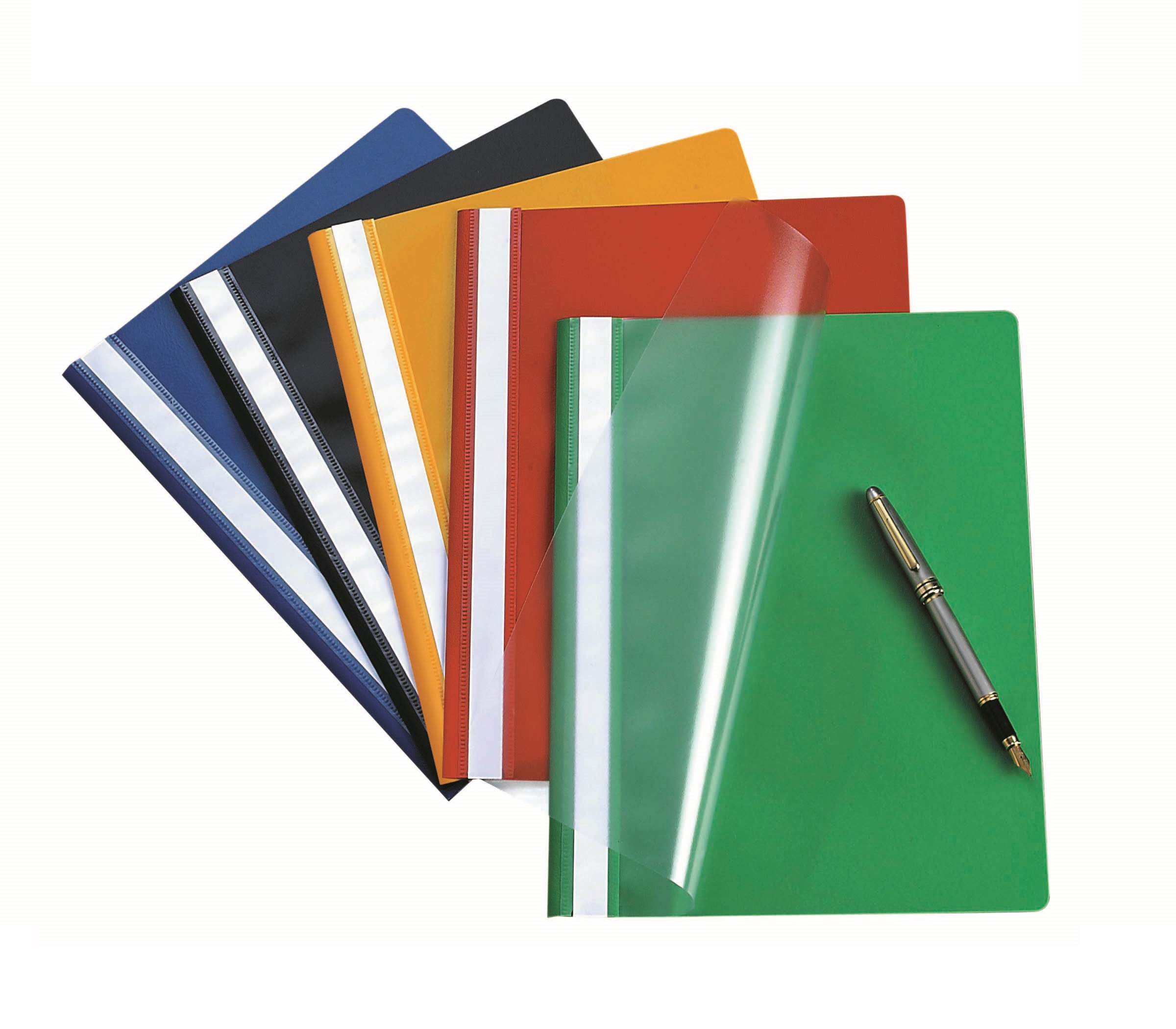 Bantex Econo Polyprop Quotation Folder Black