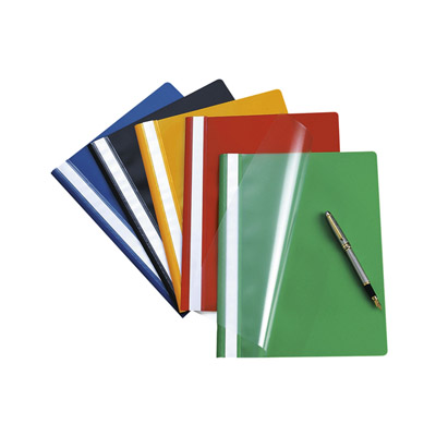 Bantex PVC Heavy Duty Quotation Folder Blue