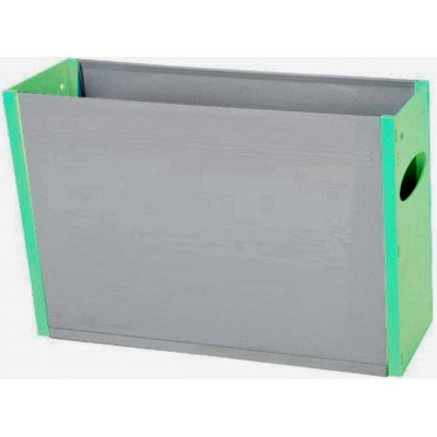 Tidy Files Solid Plastic Container A4-Light Green