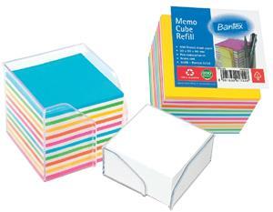 Bantex Demi Size Rainbow Refill