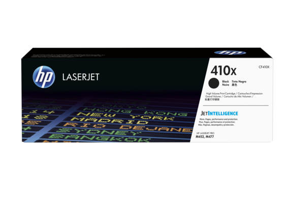 HP 410X High Yield Toner Black