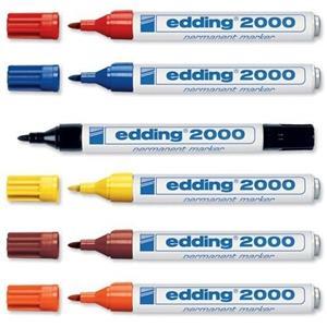 Edding 2000 Black Bullet Marker