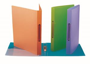 Bantex PP 2 O-Ring Binder Purple
