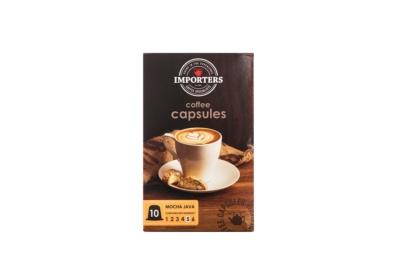 Importers Coffee Capsules Mocha Java 10X5g