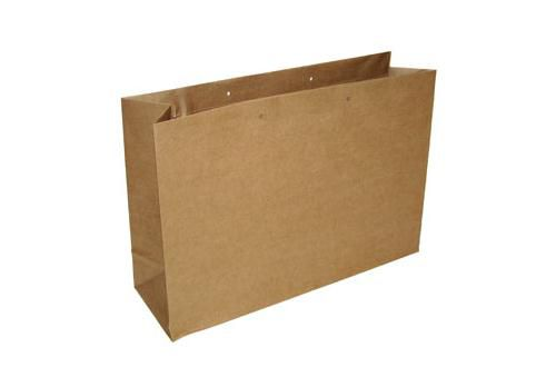 Croxley Kraft Bag Folder Over Flap Each