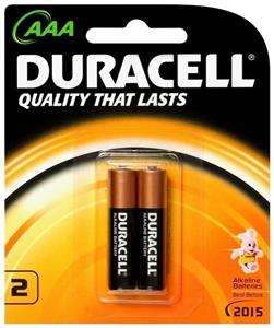 Duracell Non Rechargeable 1.5v AAA Battery