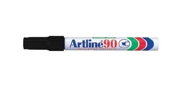 Artline EK90 Marker Black Chisel