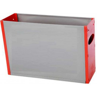 Tidy Files Solid Plastic Container A4-Red