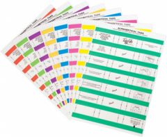 Tidy Files Numeric Labels - Light Green