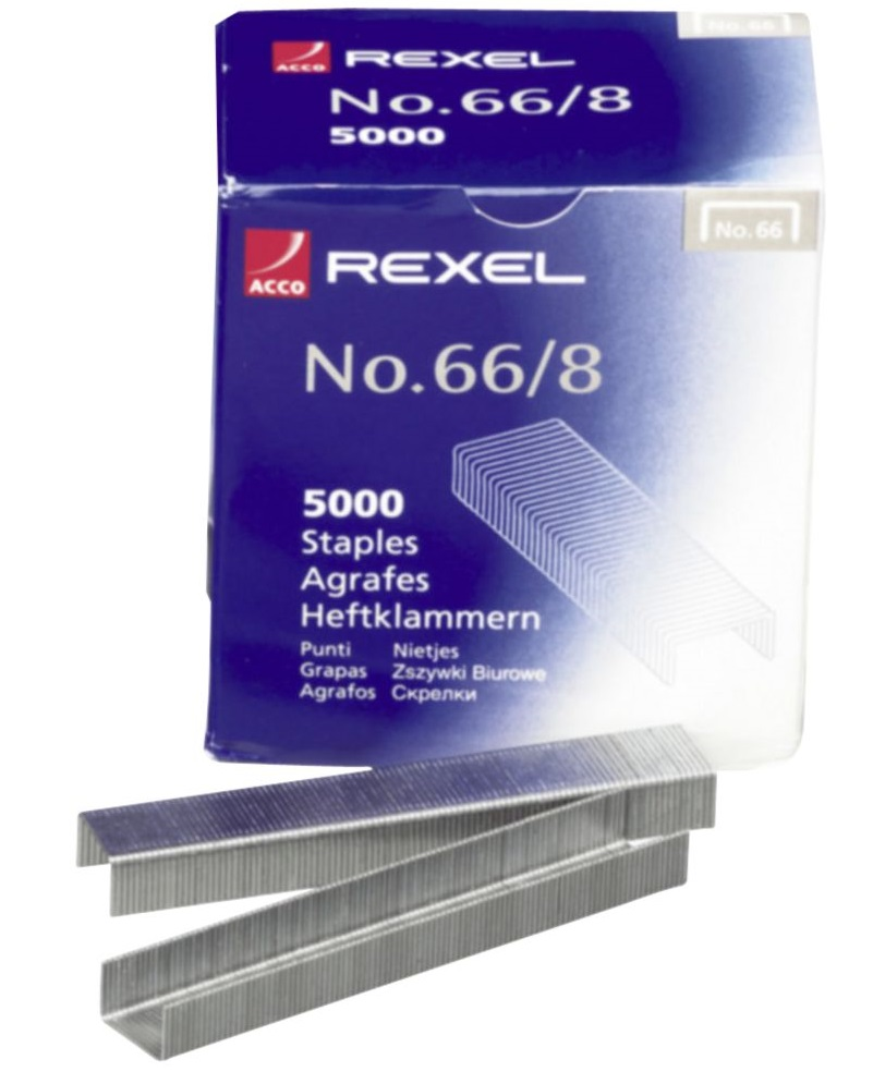 Rexel 66-8 Staples(60 Sheet Capacity)