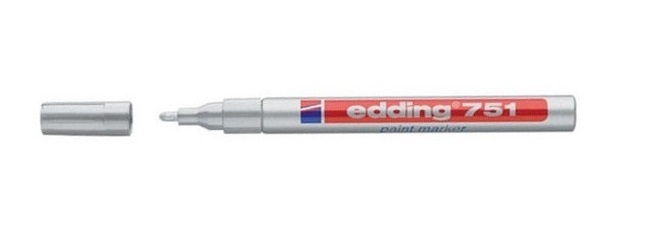 Edding 751 Silver Paint Marker
