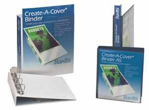 Bantex A4 2D 30mm Present Binder White