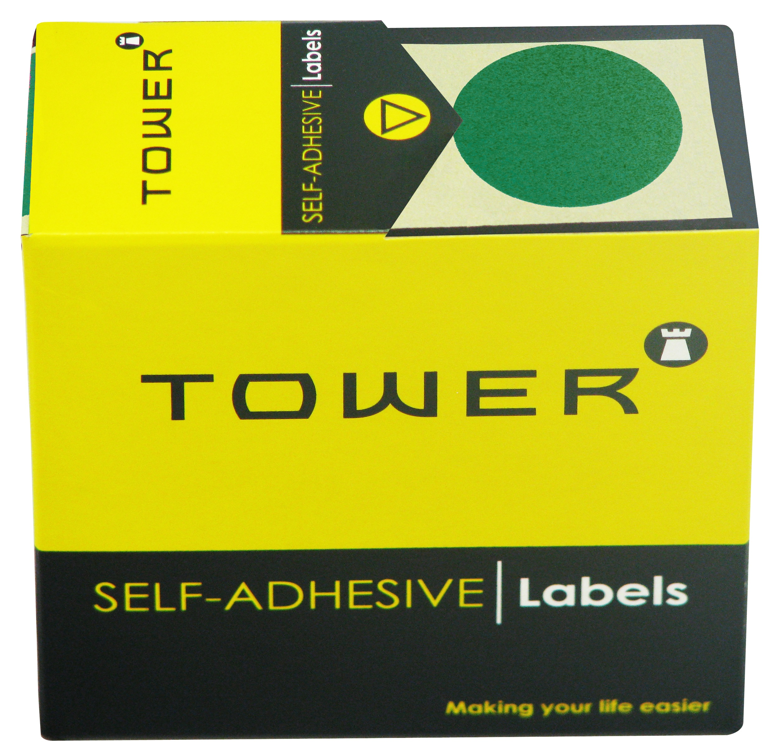 Tower C32 Label Green