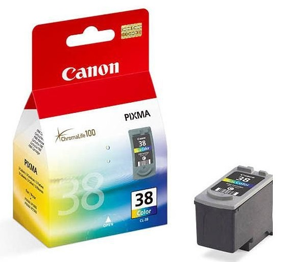 Canon Ink Cartridge Cl-38 Colour Cartridge