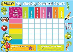 Tower Reward Chart