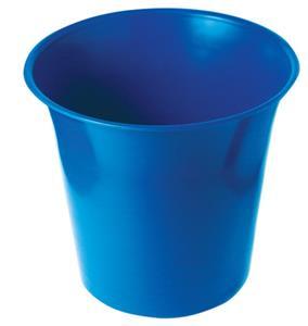 Wastebin Round Blue