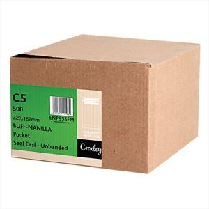 Croxley Envelopes C5 229x162 Manilla Seal Easi - Enp95sem
