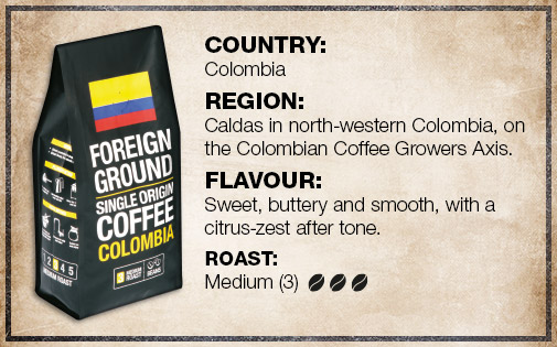 Coffee Foreign Ground Colombia 250g