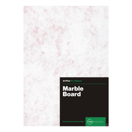 Marble Board Pink A4 25