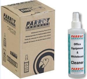 Parrot Cleaning Fluid Whiteboard 237 ML Uncarded Box Of 6