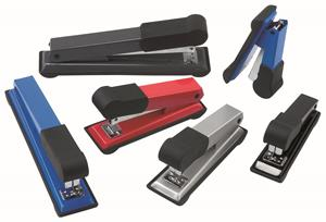 Bantex Office Staplers Med Cobalt Blue