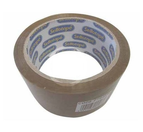 Sellotape Buff Packaging Tape 48mm x100m