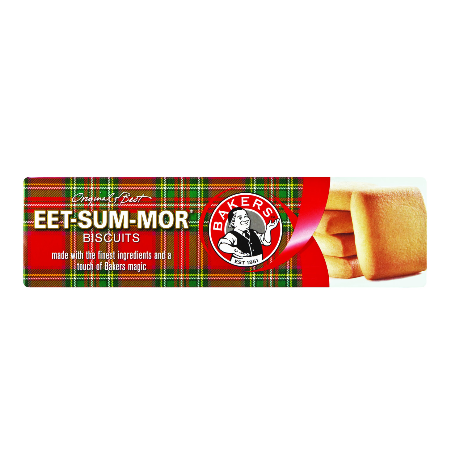 EET-SUM-MOR Bakers Biscuits 200g