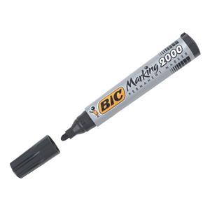 Bic 2000 Permanent Marker Black Bullet