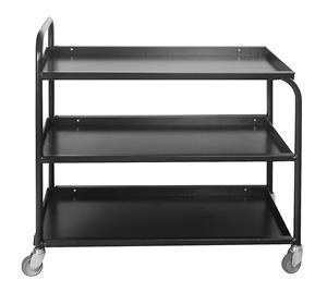 Steel Tea Trollies 3 Tier