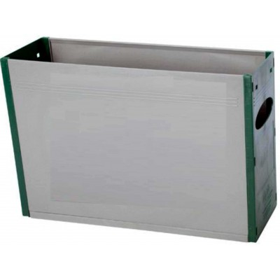 Tidy Files Solid Plastic Container A4-Green