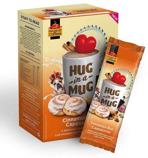Hug In A Mug Cinnamon Cappuccino (50X24g)