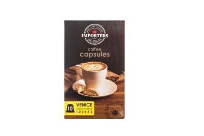 Importers Coffee Capsules Venice 10X5g