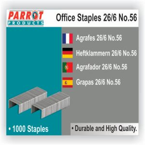 Parrot Staples 26-6 (No56) (1000pcs) 30 Pages