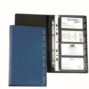 Bantex Business Card Pkt Refill 12 Pack