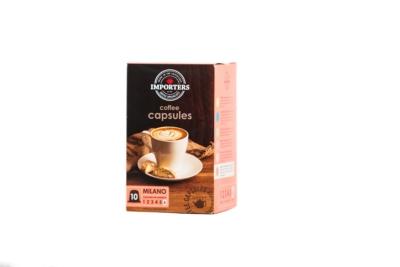 Importers Coffee Capsules Milano 10X5g