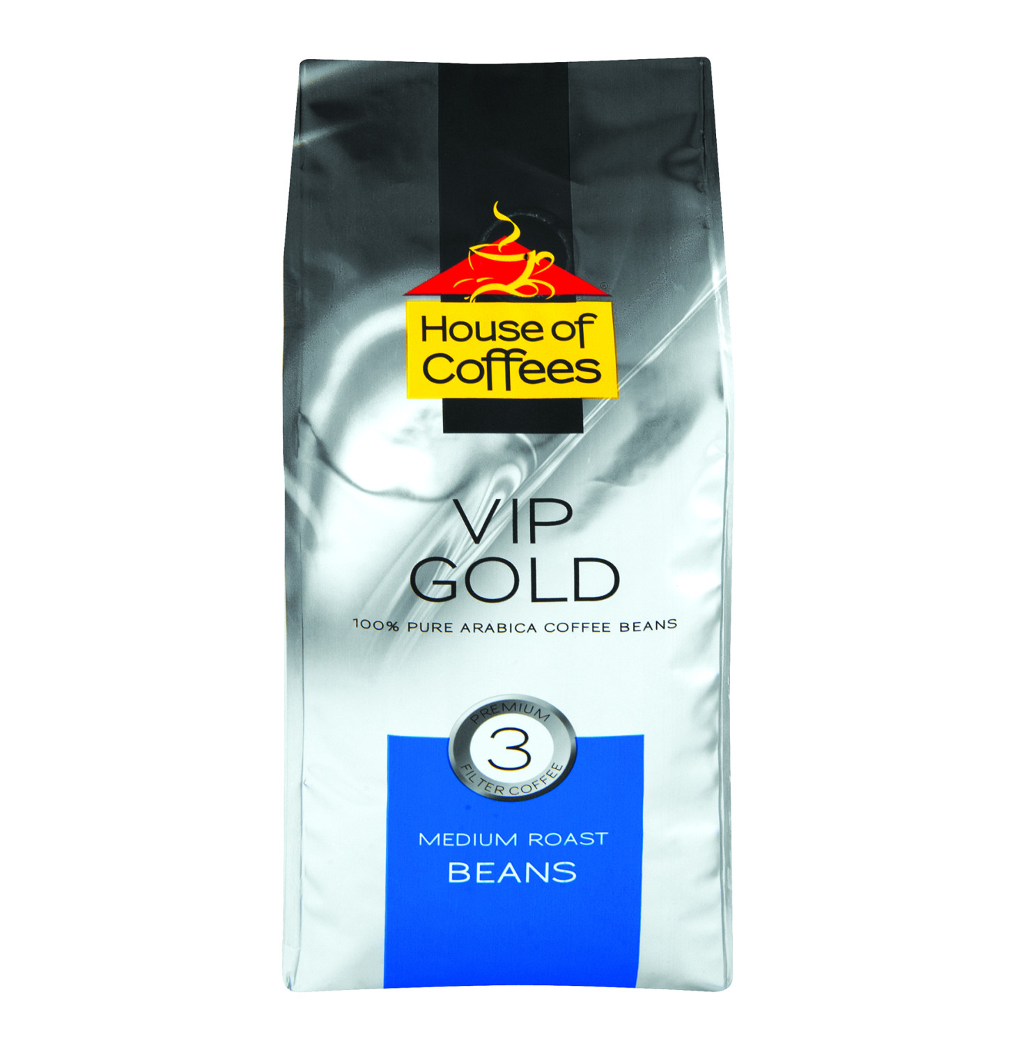 House Of Coffee Beans VIP Gold 250g