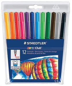 Staedtler Fibre Pens Wallet 12