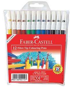Faber Castell Fibrepen Fine Wallet 12