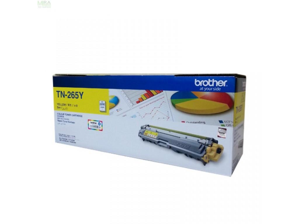 Brother Yellow Toner Cartridge TN-265Y