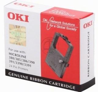 Oki 01-09-0391 Black Ribbon