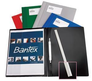 Bantex Deluxe Quote Folder Blue