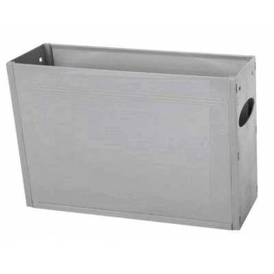 Tidy Files Solid Plastic Container A4-Grey