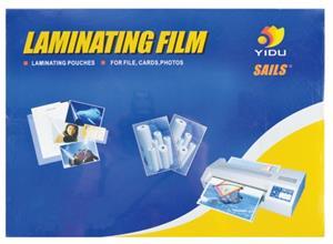 Yidu Laminating Pouch 54x86 250mic