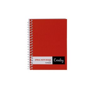 Croxley JD374 72PG Note Book Side Bound A7