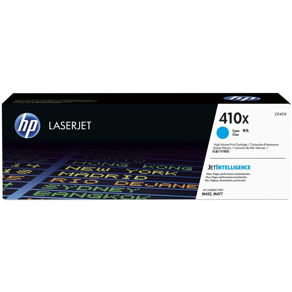 HP 411X High Yield Cyan Toner